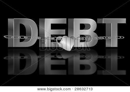 der Schuldenfalle.