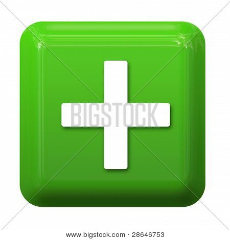 Green plus button