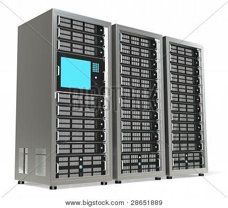 Rack de servidores X 3