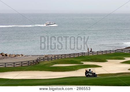 Ship & Golf Cart