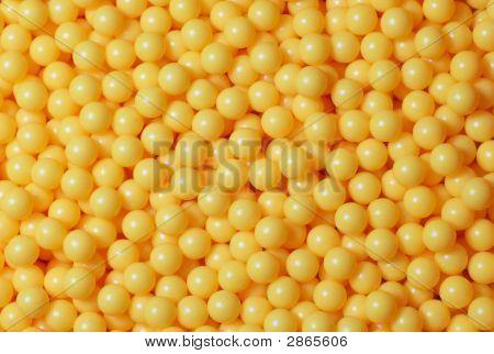 Pile Of Yellow Balls