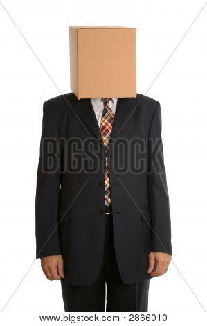 Box Man Standing