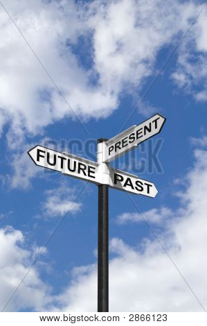 Future Past & Present Sign In The Sky