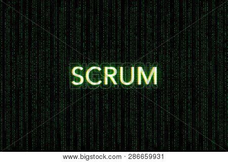 Scrum Keyword Of Agile On
