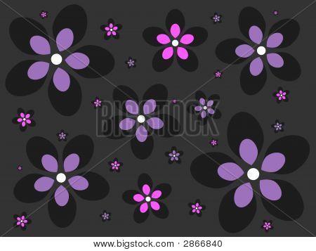 Emo Flower Background