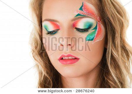 Floral Make-up