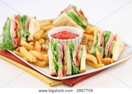 Finger Food Sandwich