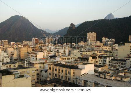 View Of Rio Towards The Corcovado