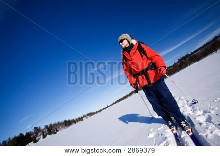 Winter Advture Skiing