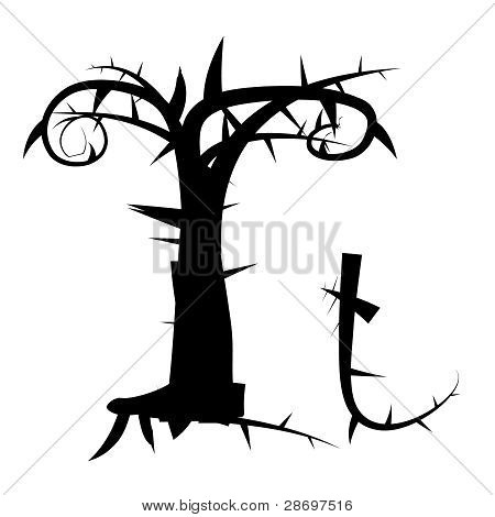 Gothic alphabet letter