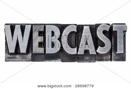 Webcast - Internet Education And Broadcasting