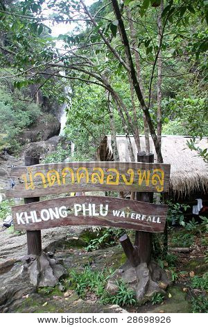 Khlong Phlu Waterfall