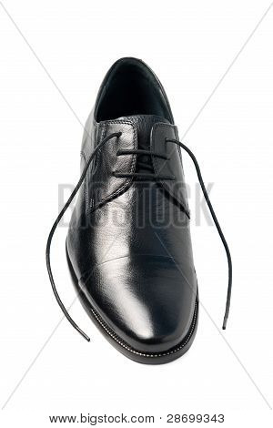 One Man's Shoes, With Laces Untied