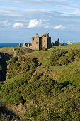 Dunottar Castle In Scotland