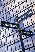 Business Marketing Commerce Sign