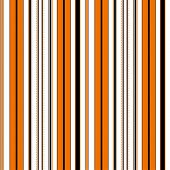 Halloween Stripe Seamless Vector Pattern. With Orange, Brown, Black And White Vertical Parallel Stri poster