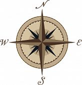 foto of compass rose  - Compass - JPG