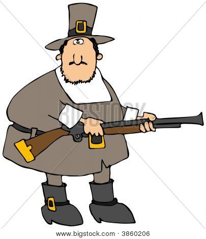 Pilgrim With A Gun