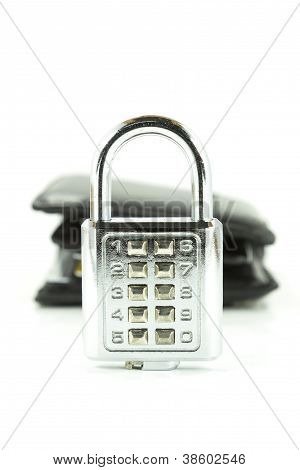 Digital Combination Lock And Background Wallet