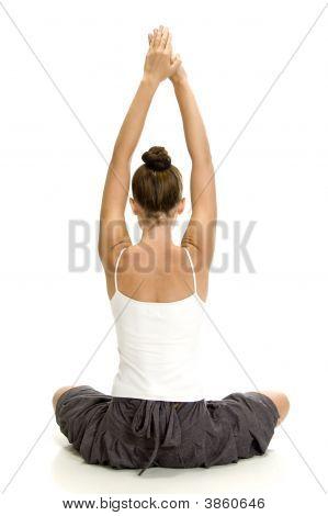 Female Doing Yoga