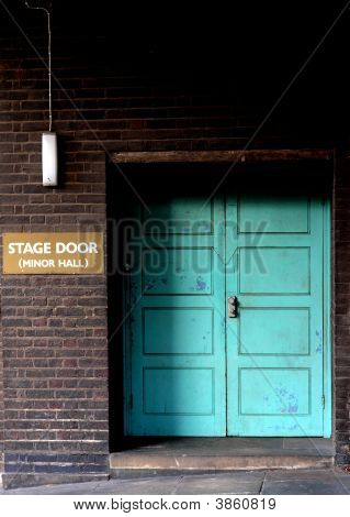 Back Stage Door