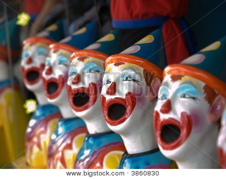 Ceramic Clowns