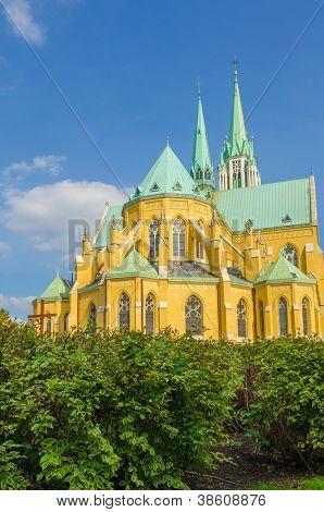 Catedral Basílica de St. Stanislaus Kostka em Lodz