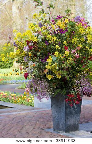 flower bouquet, Keukenhof Gardens, Lisse, Netherlands