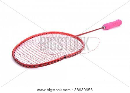 broken badminton racket