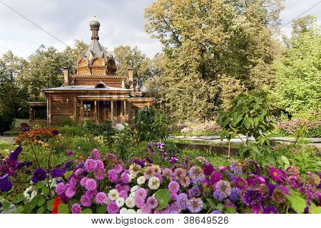 Old Wooden Russian Orthodox Church