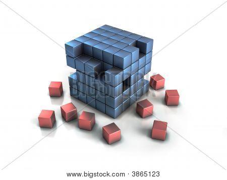 Crumbling Cubes