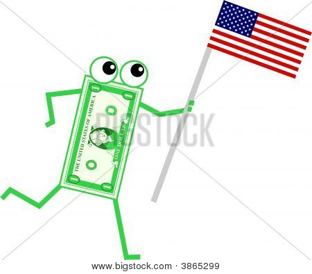 Flag Dollar
