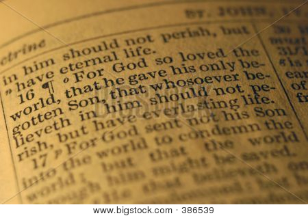 For God So Loved The World ...