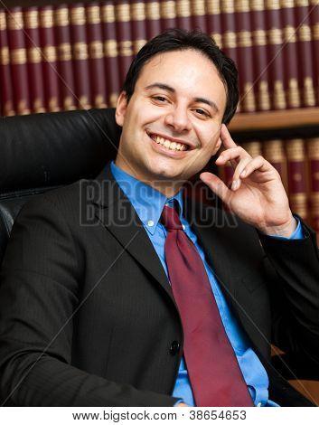 Zuversichtlich Rechtsanwalt Porträt