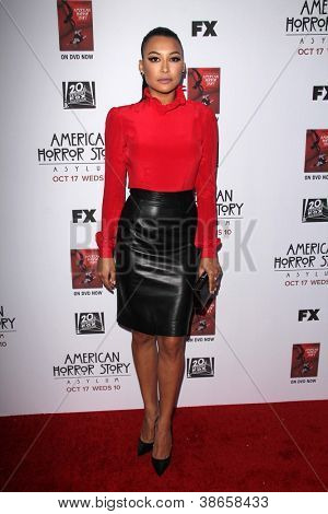 LOS ANGELES - OCT 13: Naya Rivera kommt an die