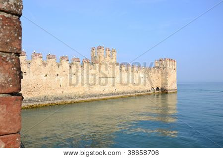 Fortress on the lake
