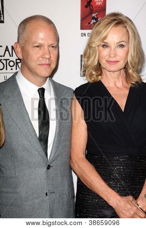 LOS ANGELES - OCT 13: Ryan Murphy, kommt Jessica Lange in der