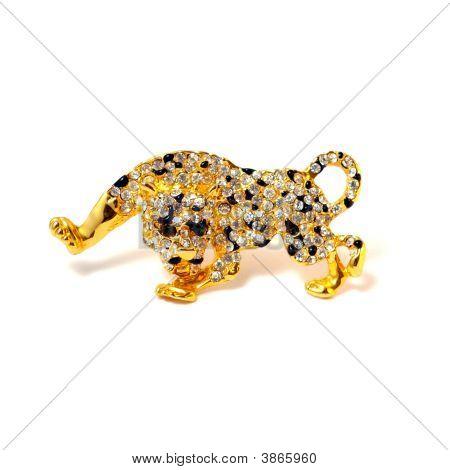 Brooch Leopard