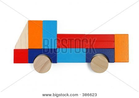 Baby Blocks Figure - Truck