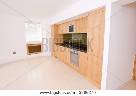 Brand New Luxury Kitchen In Apartment