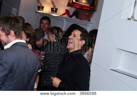 Jeremy Edwards At Cult Beauty Launch Party