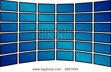 TV-Bildschirme