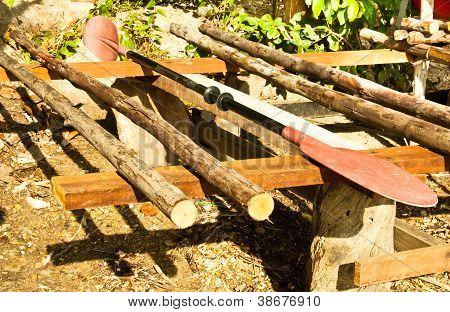 Kayak Paddles.
