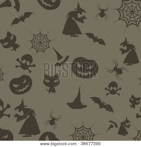 Halloween seamless background. EPS 10.