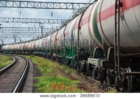railroad tank car