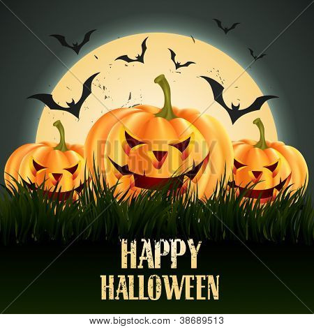 creative halloween vector design with space for your text