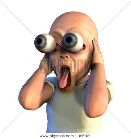 Wacky Shocked Baby