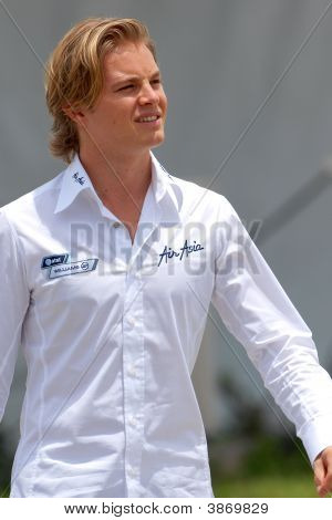 Nico Rosberg, Driver Of Williams F1 Racing Team