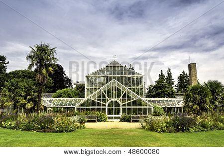 Botanic Garden In Cambridge, England