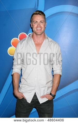 LOS ANGELES - JUL 27:  Jonathan Buckley at the NBC TCA Summer Press Tour 2013 at the Beverly Hilton Hotel on July 27, 2013 in Beverly Hills, CA